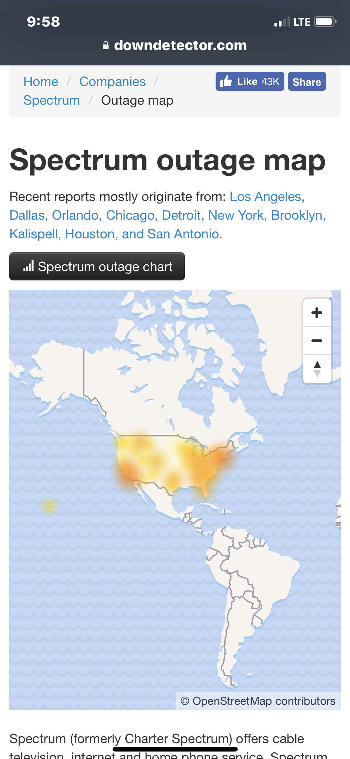 Major Internet Outage   NYCFC Forums